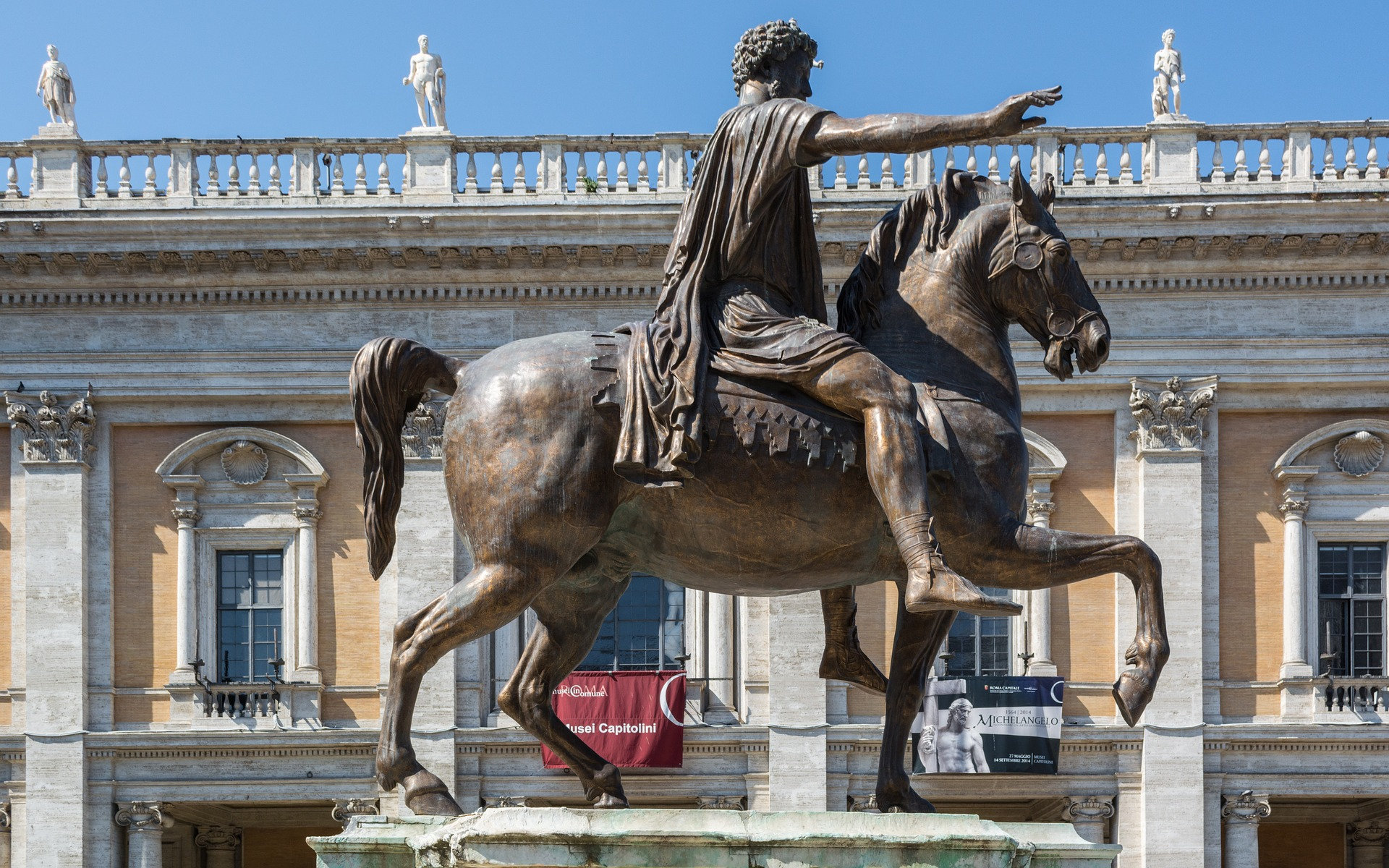 The Help Of Marcus Aurelius For Rome And The Present World?